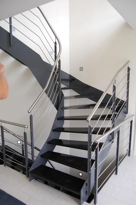 voit treppen stahltreppen. Black Bedroom Furniture Sets. Home Design Ideas